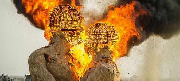 Le Festival de Burning Man dans le Nevada