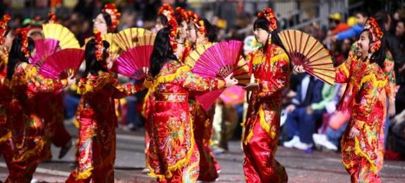 La Chinese New Year Festival & Parade de San Francisco