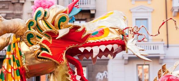 La Golden Dragon Parade de Los Angeles