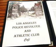 La buvette de la Police Academy de Los Angeles