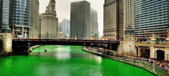 La Saint Patrick à Chicago