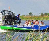 Les Everglades en hydroglisseur