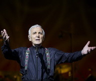Charles Aznavour en concert à New York