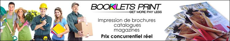 Bookletsprint – Banniere Tracking