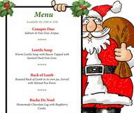 Noël et Nouvel An au restaurant
