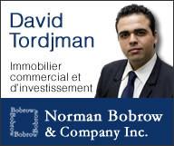 David Tordjman - Norman Bobrow & Co. Inc