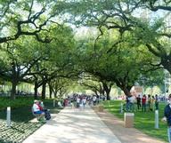 Discovery Green à Houston