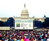 Screen on the Green à Washington D.C.