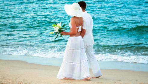 Se marier sur la plage à Miami