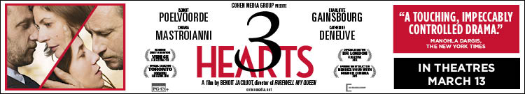 COHEN MEDIA - 3 HEARTS