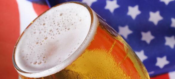 Un panaché des bières aux Etats-Unis
