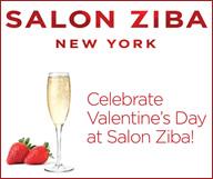 Salon Ziba offre du champagne et des fraises aux amoureux le 14 février de 16 à 19h