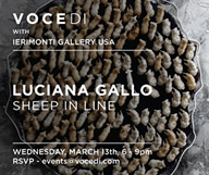Découvrez l'incroyable exposition «Sheep in Line» de Luciana Gallo
