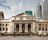 La New York Public Library, la seconde plus grande bibliothèque américaine est à New York