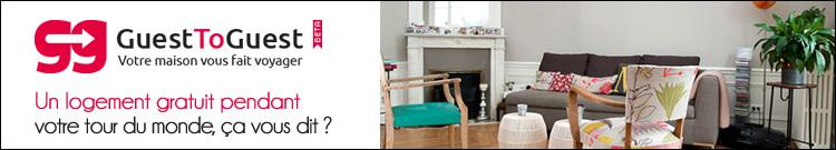 Echanges d'appartements et de maisons grâce à GuestToGuest