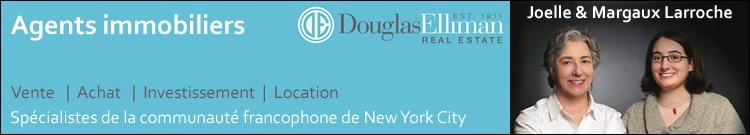 Achat, vente de maison, appartement ou bien commercial à Mew York - Joelle et Margaux Larroche - Douglas Elliman