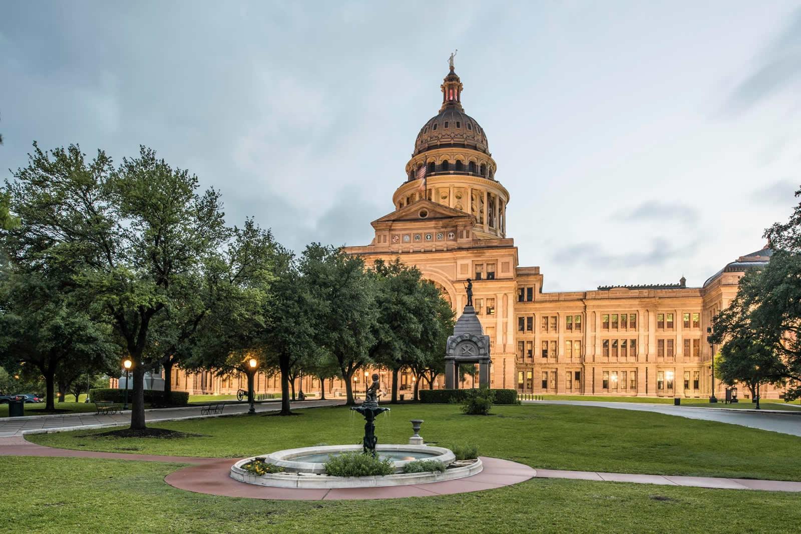Le Texas State Capitol à Austin