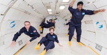 avion-vol-parabolique-impesenteur-espace-une