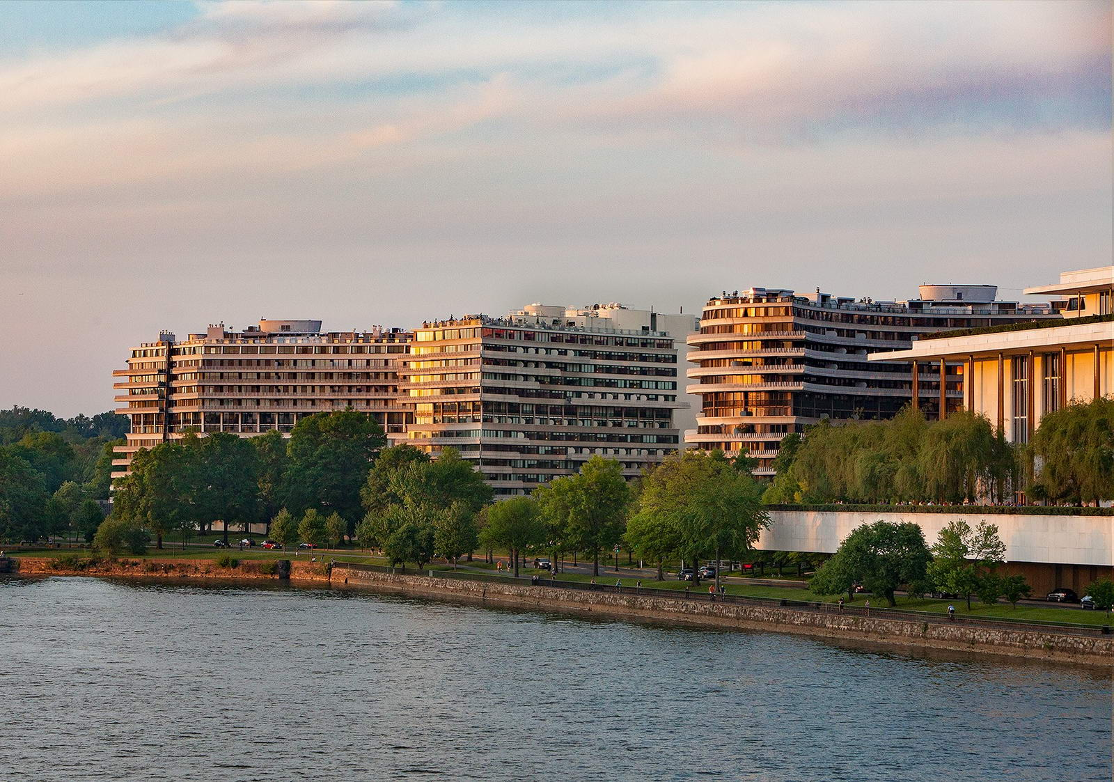 L'hôtel Watergate, lieu clef du scandale du Watergate