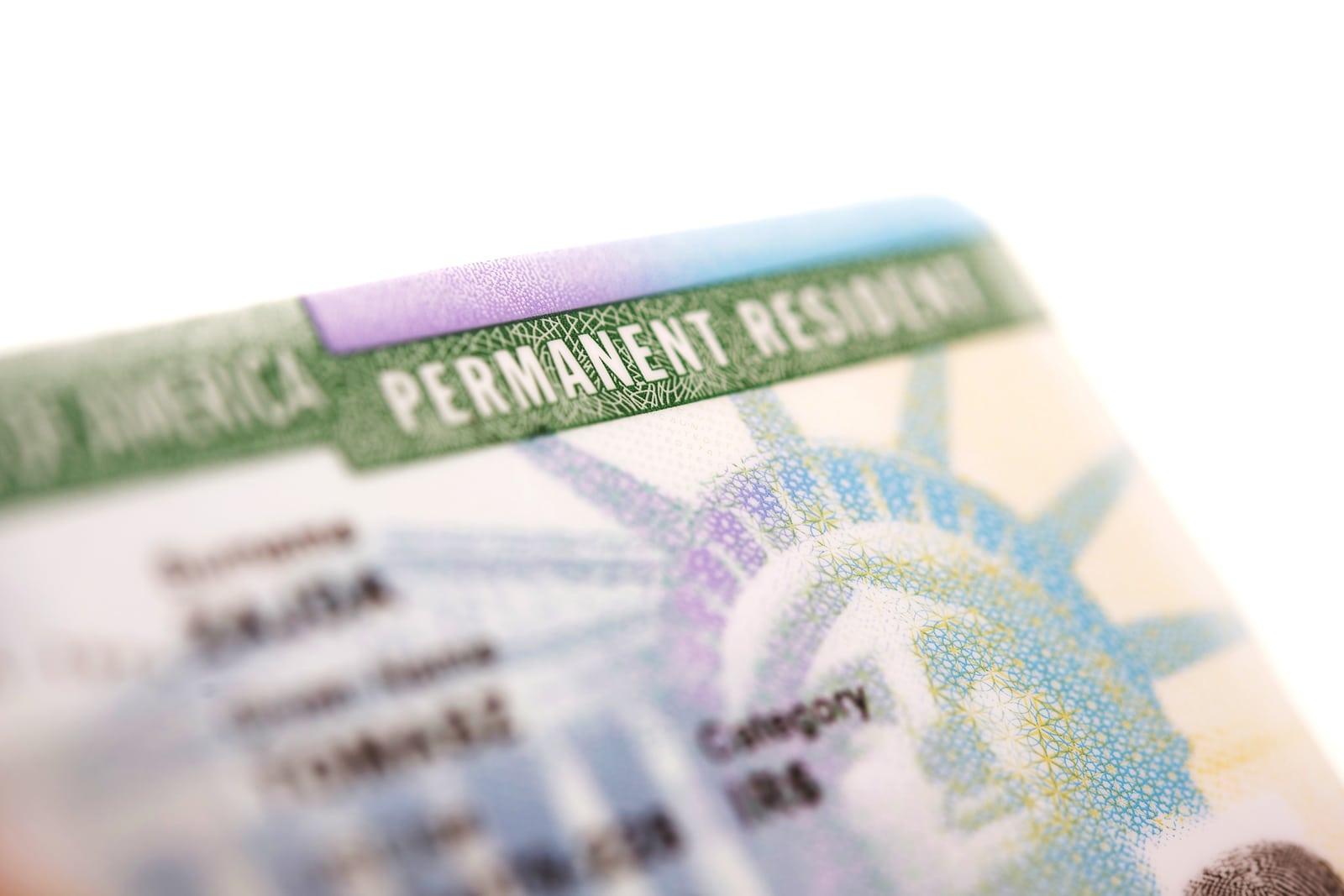 Carte Verte Obtenir La Residence Permanente Americaine