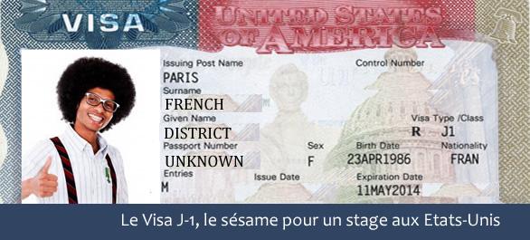 comment obtenir un visa j1 pour un stage aux usa   prix  type  dur u00e9e