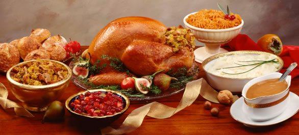 Repas Thanksgiving - Recette dîner Thanksgiving - Menu Fête Nationale