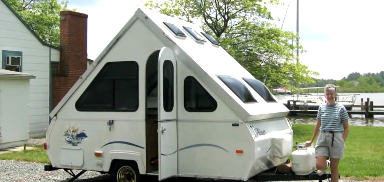 camper faire du camping aux etats unis vid o french district. Black Bedroom Furniture Sets. Home Design Ideas