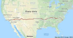 top-road-trip-etats-unis-itineraires-parcs-nationaux-hwy-i40-map