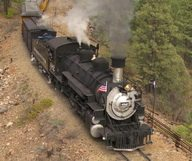 Les trains de légende aux Etats-Unis
