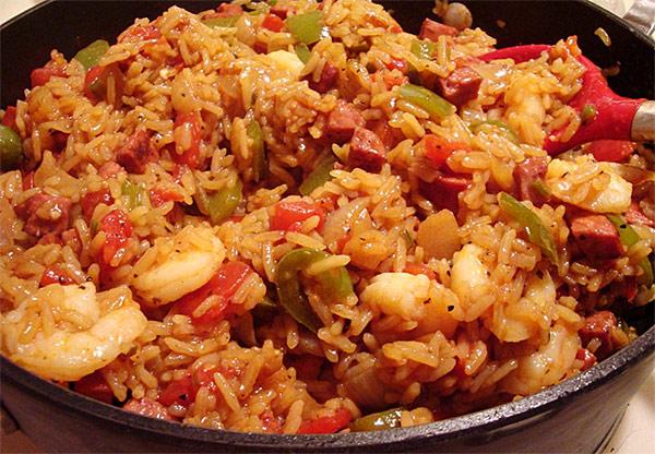 Creole-Cajun Jambalaya Recipe — Dishmaps
