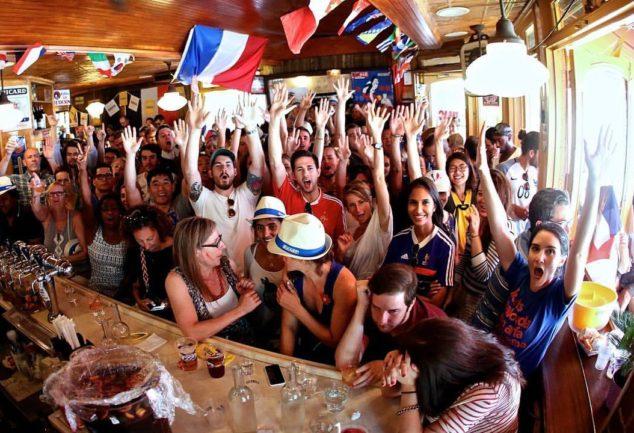 Célébrez le Bastille Day au Bar Tabac et soutenez la France pour la finale !