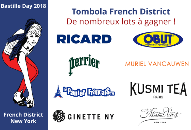 Découvrez les 16 lots de la tombola French District