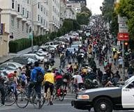 Critical Mass, le méga-rendez vous du vélo à San Francisco