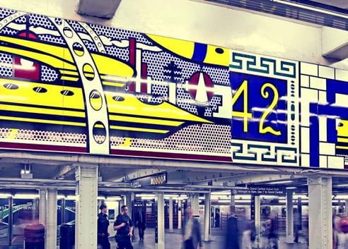 L'art dans le métro de New York
