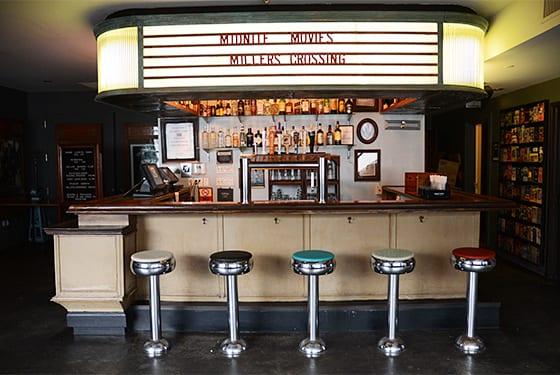 Le cinéma Nitehawk à Brooklyn