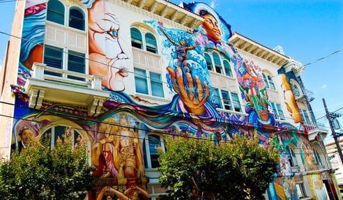 Les «District Murals» à San Francisco