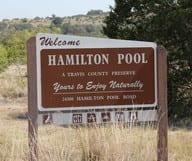 Hamilton Pool Preserve, à une petite d'heure d'Austin