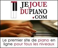 Je joue du piano