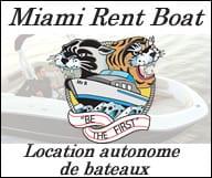 Miami rent boat