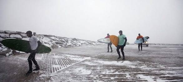 Surfer sur les Grands Lacs