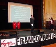 Direction la Francophonie