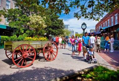 Un weekend à Savannah