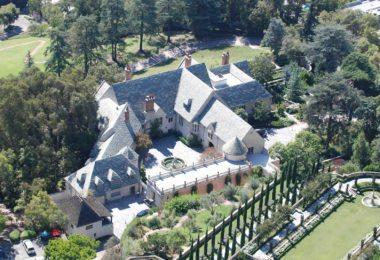La Greystone Mansion à Los Angeles