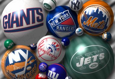 Les grandes équipes sportives à New-York