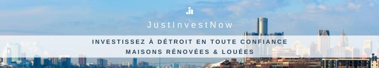 Justinvestnow | Investir dans l'immobilier à Detroit