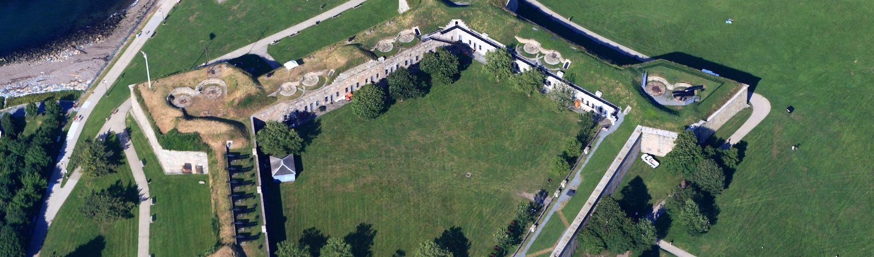 Castle Island - Visite du Fort Independence à Boston