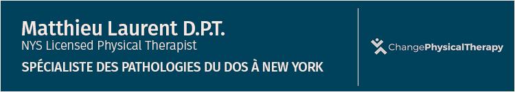 Dr. Matthieu Laurent – Kinésithérapeute et Ostéopathe à New York