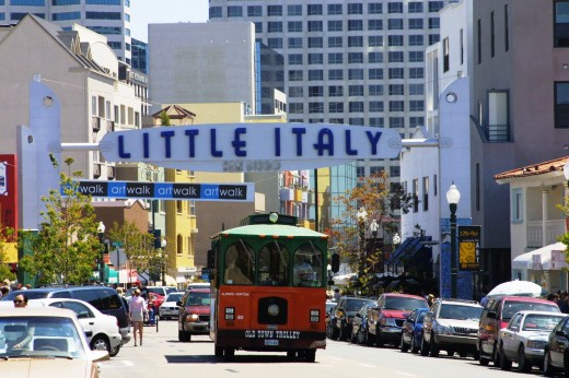 Downtown_LittleItalySign_Trolley-520x346